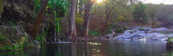 Day-trip to Krause Springs